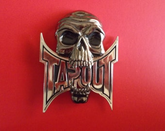 TapOut Skull Belt Buckle