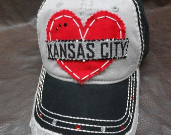 Kansas City Red Chiefs Distressed hat