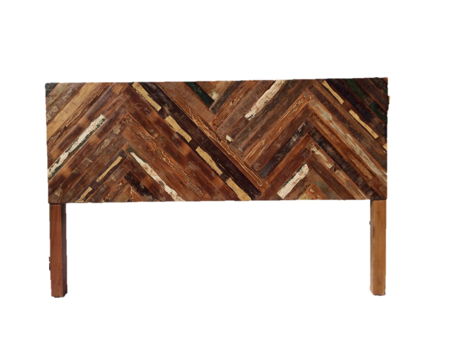 Reclaimed Wood Cal King Headboard By Shopatzen On Etsy