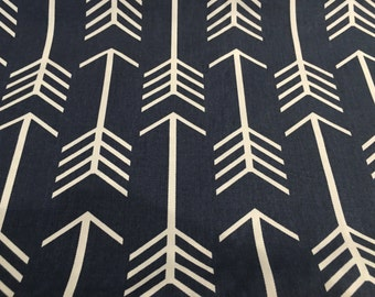 Table runner. Navy Arrows. Can either be a table runner or a small pillow
