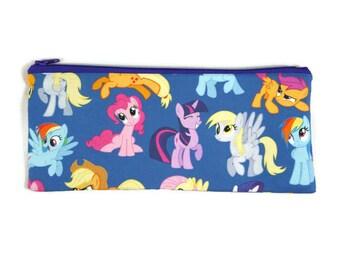 My Little Pony Pencil Case, Toiletry Bag, Cosmetic Bag, Makeup Bag, Tampon Case, Zipper Wallet, Coin Purse