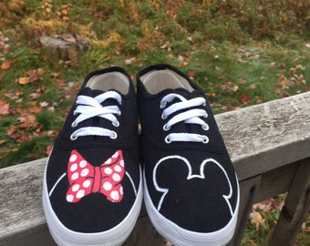Minnie Mouse Disney Shoes [MICKEY mouse shoes] Disney World Shoes