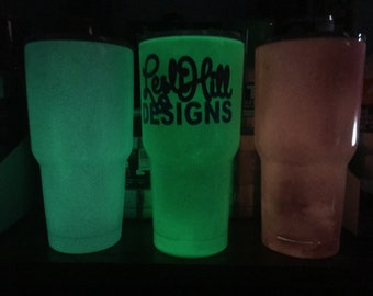 PINK Glow in the Dark Yeti Tumbler See all pictures
