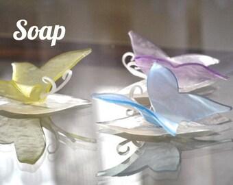 Unique Baby Shower Favor Soap - Butterfly Soap - Bridal Shower Favor Soap, Baby Shower Gifts, Wedding Favors Soap, Baby Shower Decoration
