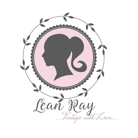 digital custom logo design girl logo cameo logo lady logo