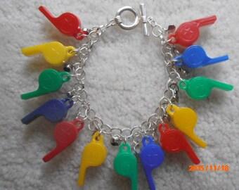 MY WHISTLING WRIST Gumball charm Bracelet