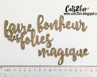 Chipboard make Follies