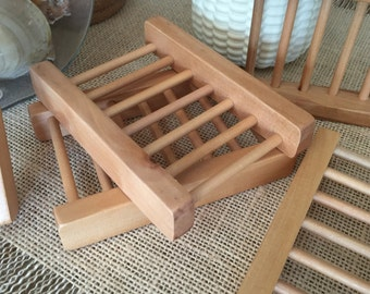 NEW! Wooden Soap Saver Dish