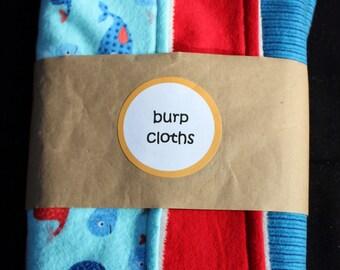 Super Soft Burp Cloths Item #1615