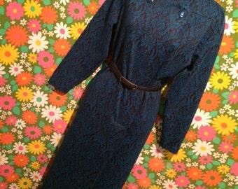 vintage goth dress size 12