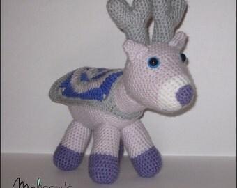 Crochet Pattern - Reyna the Christmas Reindeer