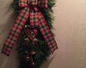 Rustic Christmas Swag