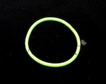 Neon Yellow - Set of 10 Ponytail Holders - PTH-008