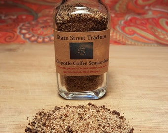 Chipotle Coffee Seasoning Blend