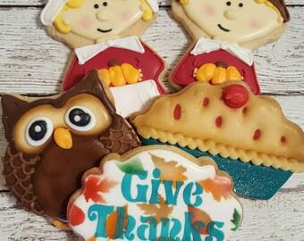 Thankful Cookies