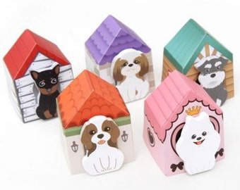 Cute Dog Sticky Notes in House SN1024DGS