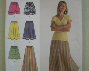 Simplicity 2368 Misses (Size R5 14-16-18-20-22) skirt in 3 lengths.  1 hour