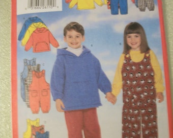 Butterick 5164 Childs size 2,3,4 top, jumpsuit and pants.  VERY EASY!