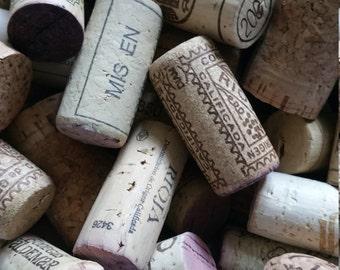 x 10 Used Wine Corks