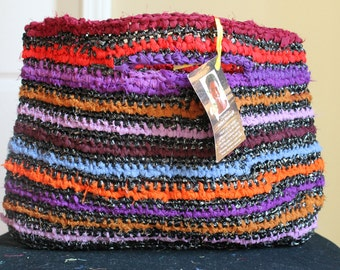 Large Grab 'n Go Clutch Handcrafted in Zambia