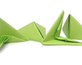 3D Origami Folded Flat Pieces (1/32 A4)