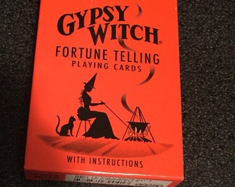 Gypsy Witch Fortune Telling Tarot Deck Divination magic shaman