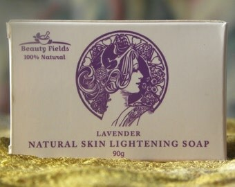 All Natural Skin Bleaching lightening whitening treatment soap