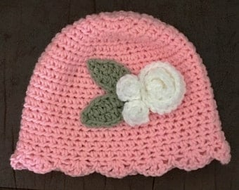 Handmade Children's Rose Hat