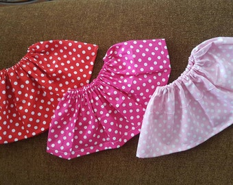 Minnie Mouse Inspired.  Pink POLKADOT. Baby Skirt. Red Polkadot.   Minnie skirt. Minnie Mouse Outfit.   Baby Minnie Costume.