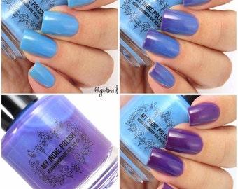 Solar nail polish - Blueberry martini 15ml Vegan