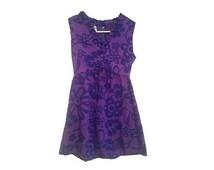 BLACK FRIDAY SALE - purple hawaiian floral dress - size xsmall / small