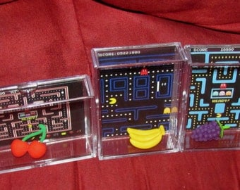 Original Pac-Man Display Lot....Brand New ..Cool Gift idea (no glue involved) your buying all 3..