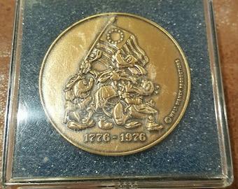 1776 - 1976 Disney Bicentennial coin