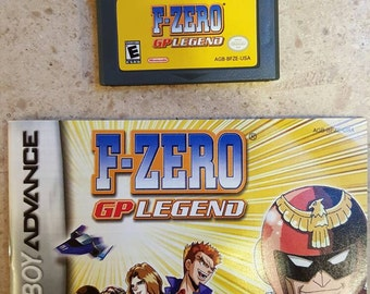 Gameboy Advance - F-zero GP Legend