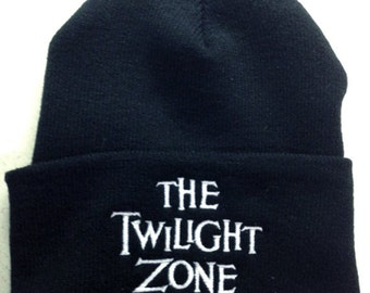 "The Twilight Zone ""Zone"" beanie sci-fi"