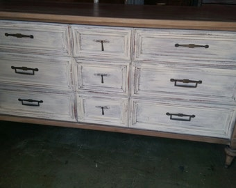 Restoration Hardware style dresser / Media Stand / Buffet