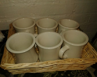 Vintage Diner Mugs Lot of 6
