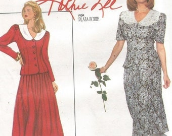 9184 Simplicity Sewing Pattern Two Piece Dress Kathie Lee UNCUT Size 6 8 10 Factory Folded