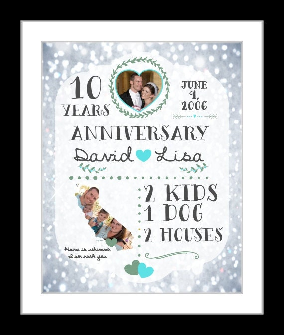 Silver Wedding Anniversary Gifts For Him: A 25 Year Anniversary Gift Silver Wedding Anniversary Gift