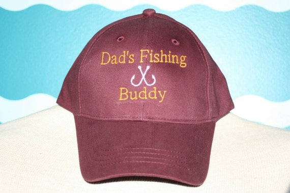 Youth baseball fishing hat childs baseball hat dad 39 s for Youth fishing hats