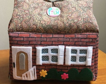 CUSTOM Fabric Dollhouses- Representation of your own house- Custom Dollhouse Replication of any house-Turn your house into a toy