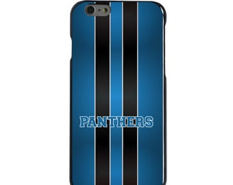 Hard Snap-On Case for Apple 5 5S SE 6 6S 7 Plus - CUSTOM Monogram - Any Colors - Blue Black Panthers