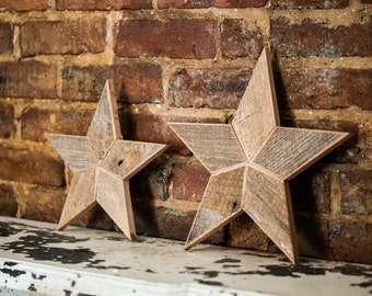 star christmas tree topper decoration 10 inch star tree topper made from natural reclaimed wood - 12 Inch Christmas Tree