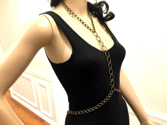 Shoulder Jewelry. Shoulder Chains. Body Chains Top by MirelaS