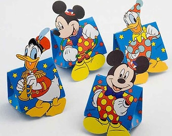 Disney Wedding Favour Boxes (pack 10 mixed)   Children's Favours   Wedding Favours for Kids   Disney Boxes   Mickey Mouse   Donald Duck