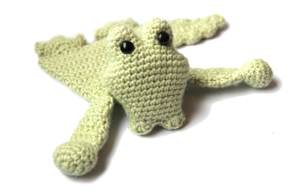 Baby Crocodile Mini Ragdoll crochet amigurumi pdf pattern