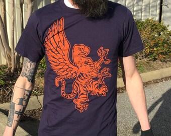 Orange/Navy Teagle T-Shirt