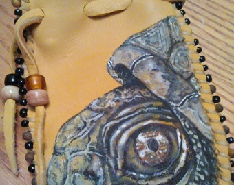 CUSTOM Ancient Stone Medicine Bag
