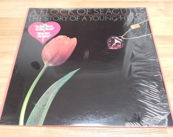 A Flock Of Seagulls The Story of a Young Heart Still In Shrink Vinyl Record LP Album