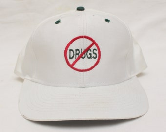 "Rare 90's Vintage ""SAY NO to DRUGS"" Original SnapBack"